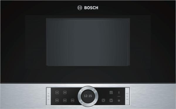 Bosch BFR634GS1 Einbau-Mikrowelle Edelstahl